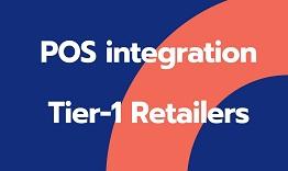 POS integration Teir-1 Retailers